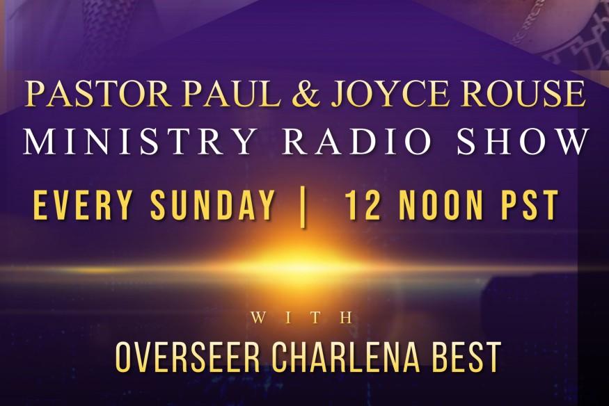 PASTOR PAUL & JOYCE ROUSE